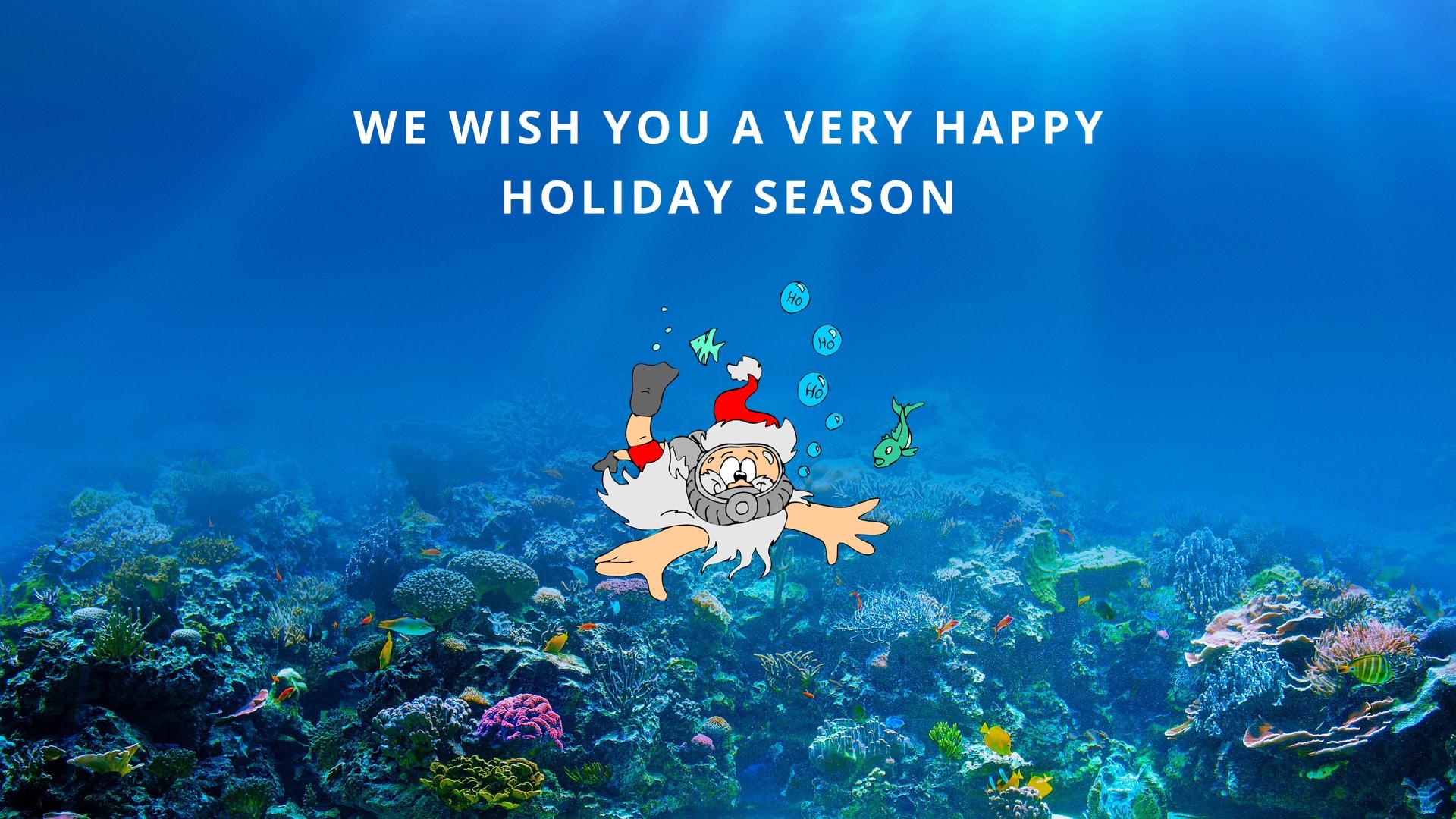 Happy holidays 2020! | ProTec Dive International